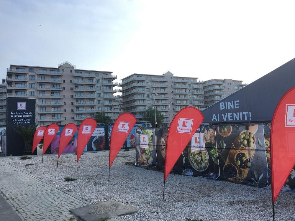 Kaufland Romania inaugureaza primul magazin estival amenajat intr-un cort pe litoral