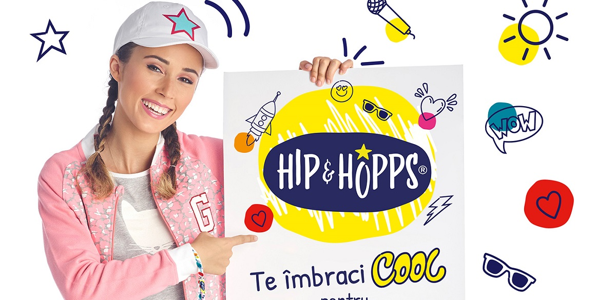 Kaufland a lansat o noua marca proprie de haine pentru copii, Hip&Hopps