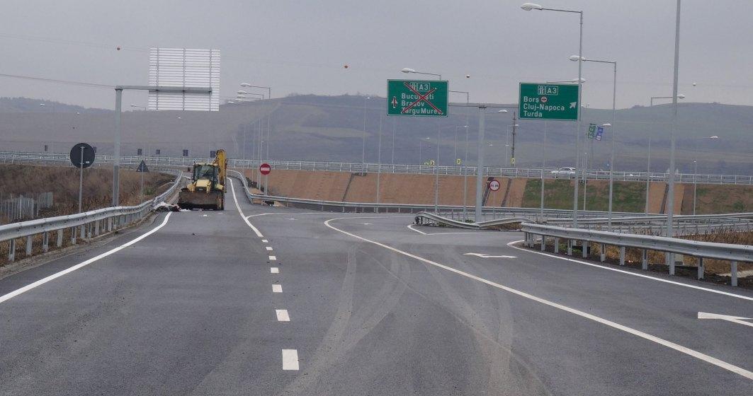CNAIR a deschis astazi circulatia pe inca 14 kilometri din autostrada A3, pe loturile Ogra-Iernut si Ungheni-Iernut