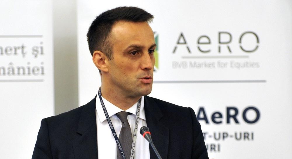 """Primul om care vorbeste oficial de blockchain si DLT in piata de capital romaneasca. Valentin Ionescu: """"Sunt un sustinator al introducerii tehnologiei. ASF analizeaza"""""""
