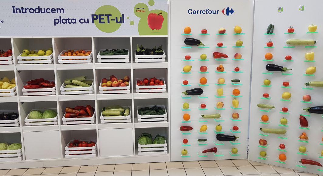 Carrefour va extinde programul de plata cu PET-ul in alte cinci orase din Romania