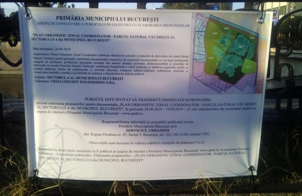 Primaria Bucuresti vrea sa distruga Parcul Natural Vacaresti: Proiect imobiliar