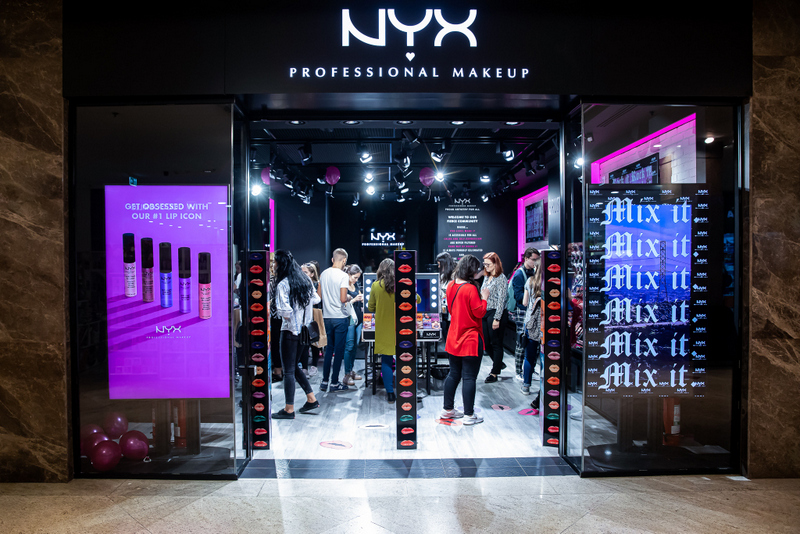 Primul magazin din regiune al brandului de cosmetice NYX Professional Makeup s-a deschis in Iasi
