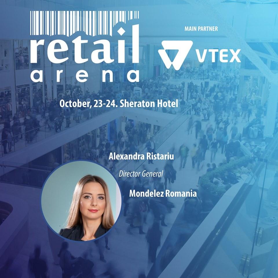 Teaser retailArena 2019. Alexandra Ristariu, Mondelez: Consumatorii raman inca fideli brandului preferat, dar asteapta cat mai multe inovatii de la acesta