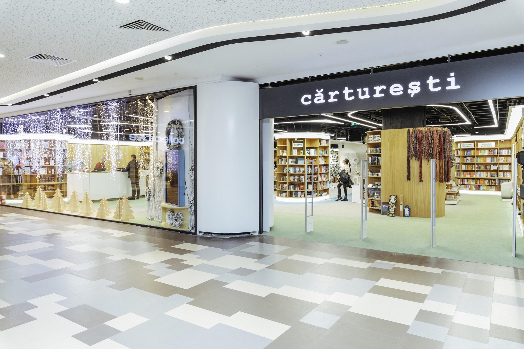 Carturesti a deschis o librarie in Bucuresti Mall Vitan