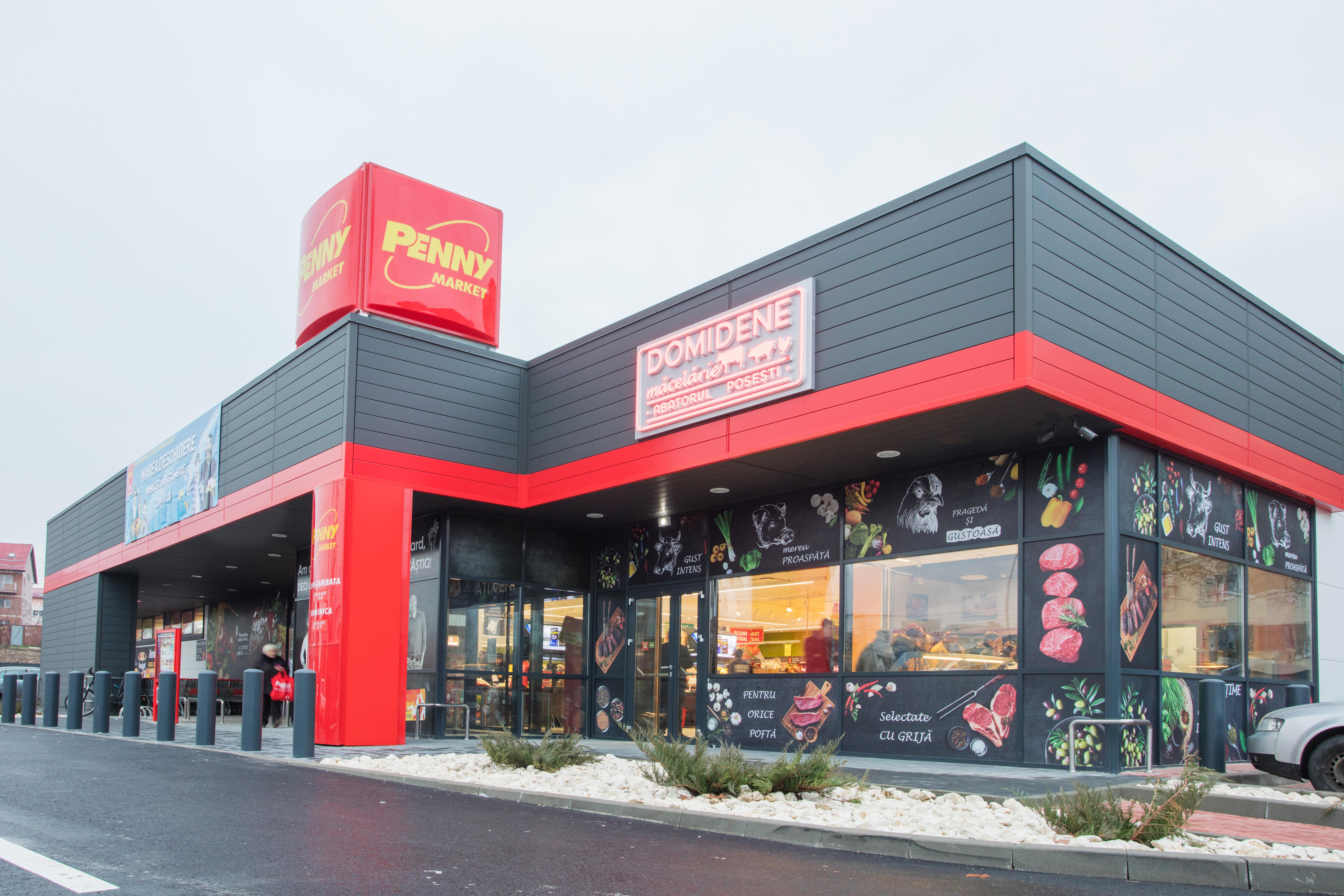 Penny Market deschide primele magazine, din cele 20 planificate in acest an, in Iasi si Navodari