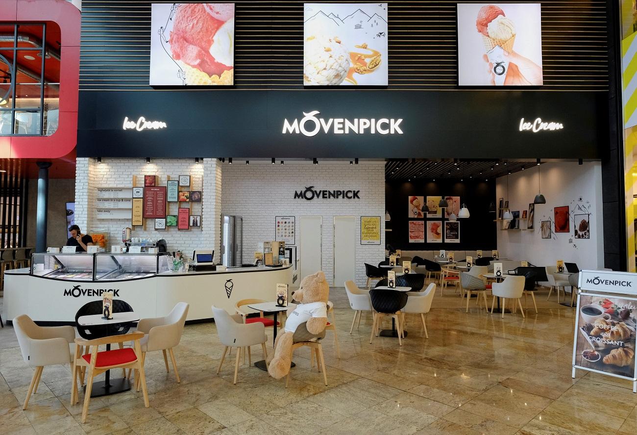 O nouă înghețată pe piață: Mövenpick, brand din Elveția, intră în România