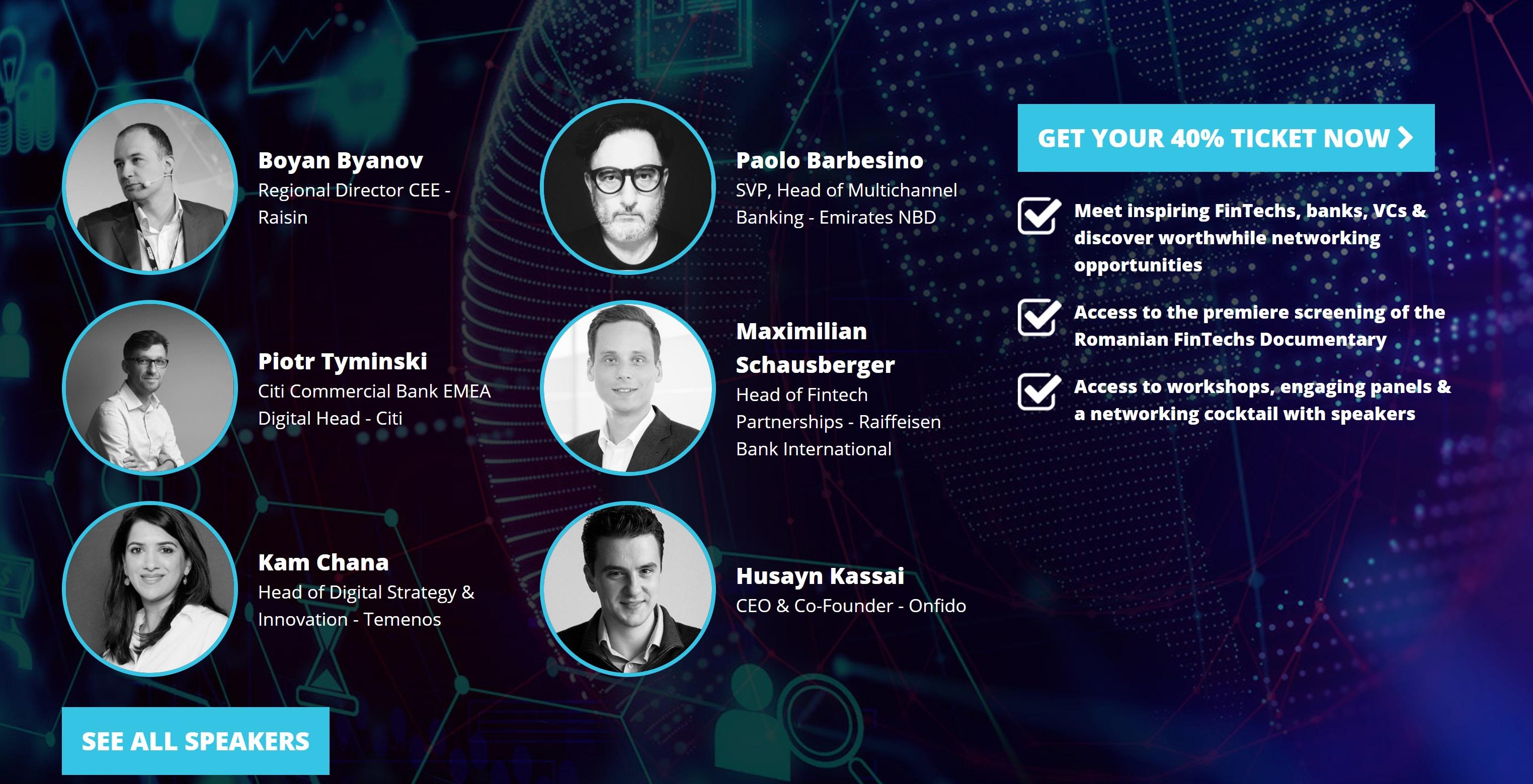 Future Banking 2020: ce speakeri locali si internaționali pun Bucureștiul pe harta FinTech-ului
