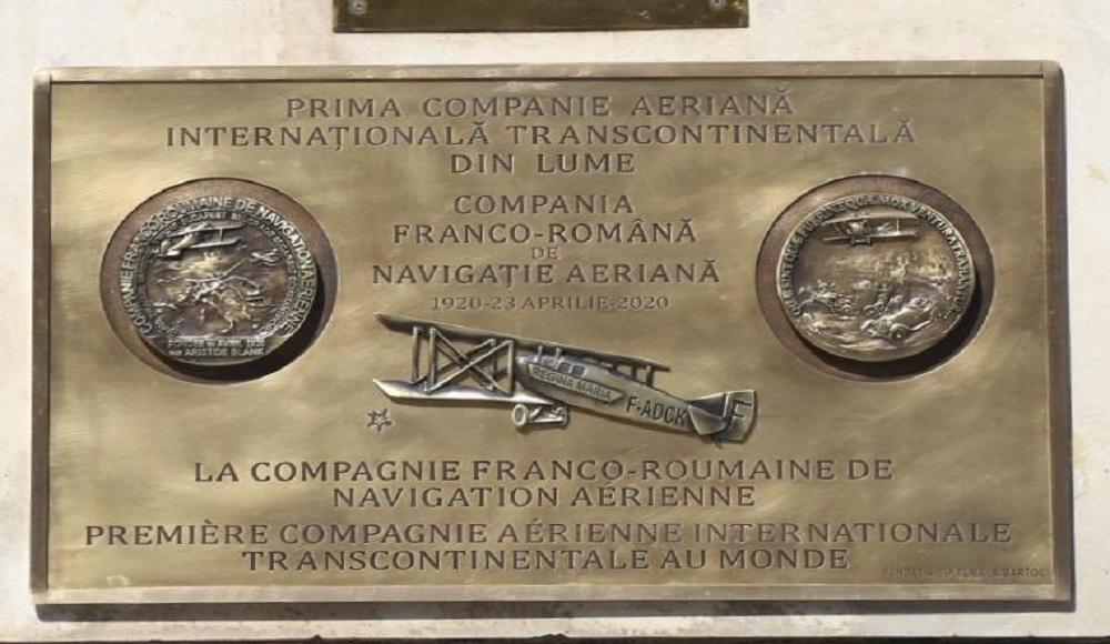 AVIAȚIE | Compania Franco-Române de Navigație Aeriană a împlinit 100 de ani