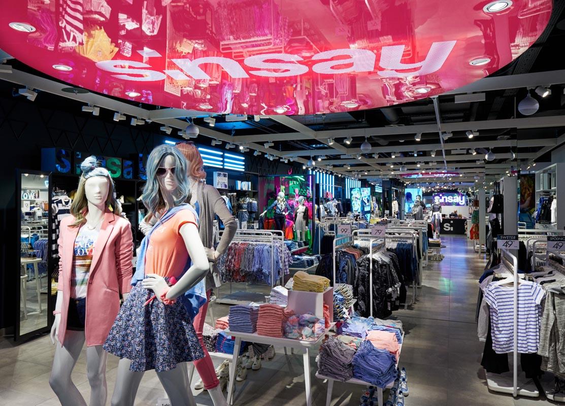 Sinsay, brandul grupului polonez LPP, va deschide în Colosseum Mall cel mai mare magazin din România