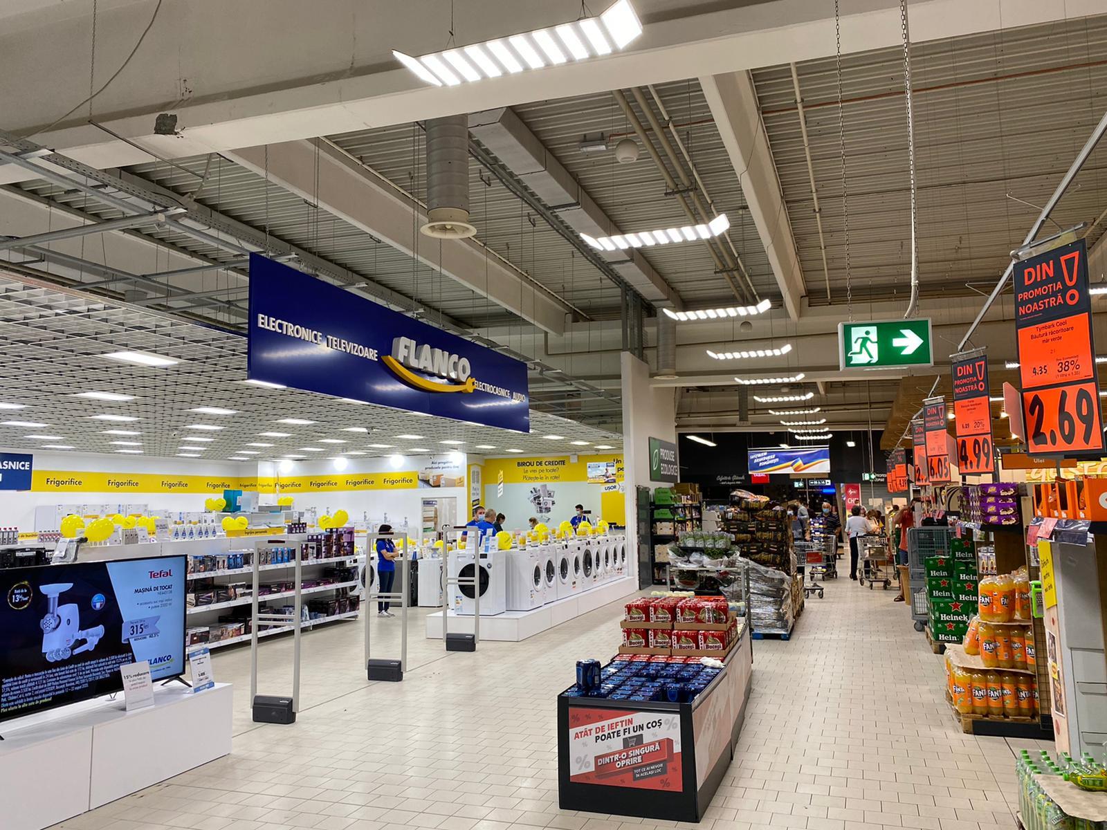 Flanco a deschis primul shop-in-shop în parteneriat cu Kaufland, în Târgu Jiu