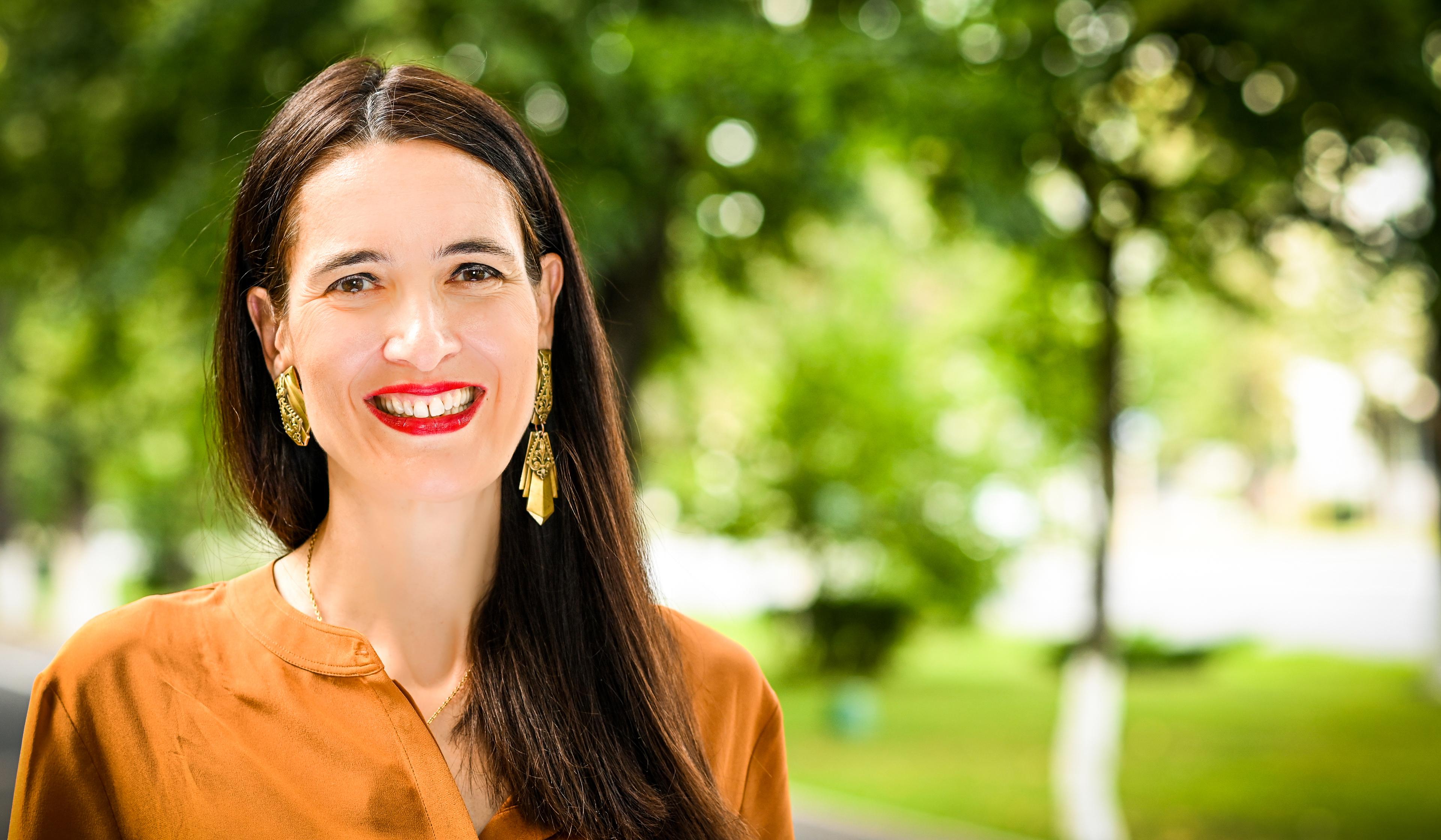 Clotilde Armand, candidata USR pentru Primaria sectorului 1