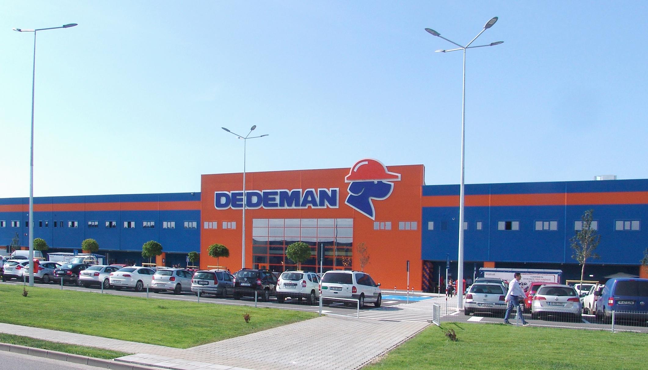 Dedeman inaugurează vineri, 4 septembrie, magazinul din Lugoj