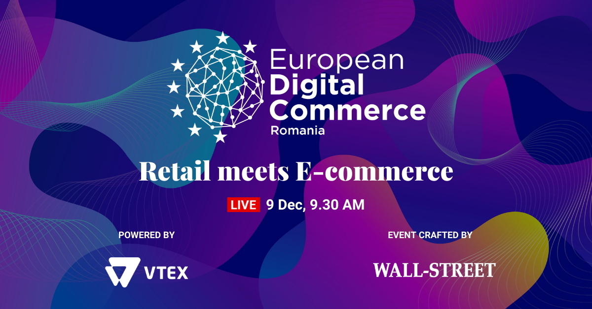 European Digital Commerce: Înscrie-te gratuit pentru a afla ultimele trenduri din comerțul online