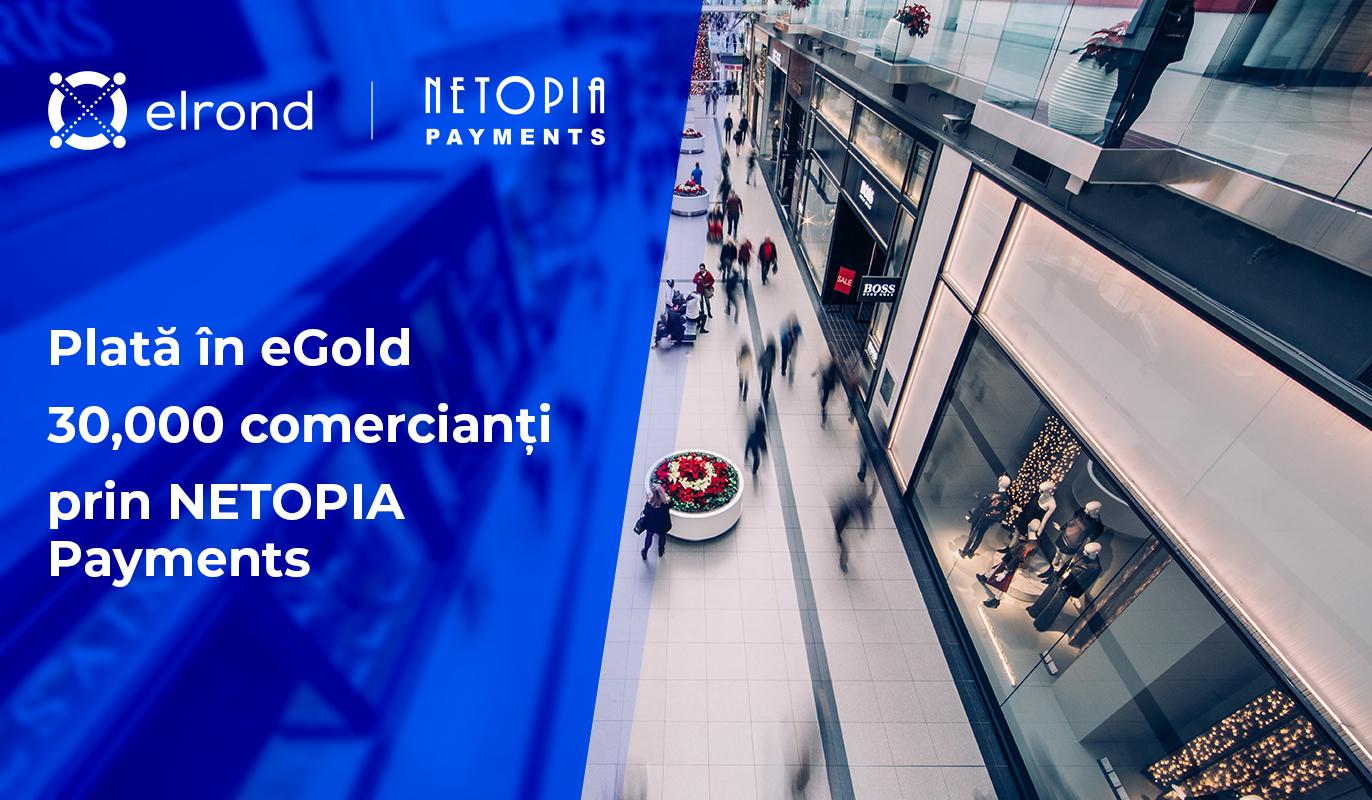 Netopia Payments aduce criptomoneda românească eGold la îndemâna comercianților online din România