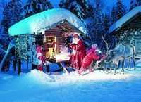 Cea mai 'exotica' vacanta de iarna: acasa la Mos Craciun
