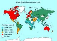2% din populatia Globului detine peste jumatate din averile mondiale