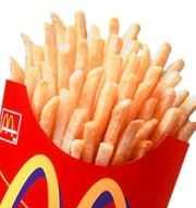 McDonald's, o cultura de masa, pe masa