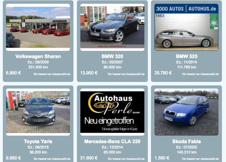 site uri auto din germania cu cele mai bune oferte la masini rulate. Black Bedroom Furniture Sets. Home Design Ideas