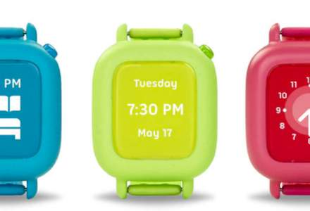 Smartwatch-ul care ii spune copilului tau cand sa se spele pe dinti