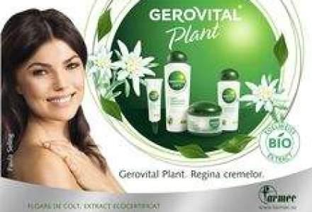 Cocoon a desenat noile ambalaje Gerovital Plant
