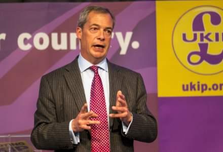 """Nigel Farage, liderul UKID, catre europarlamentari: """"Niciunul dintre voi nu a muncit cu adevarat in viata sa. Acum nu mai radeti"""""""