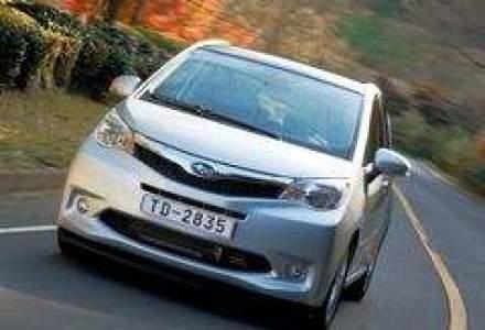 Subaru Trezia este disponibil in Romania