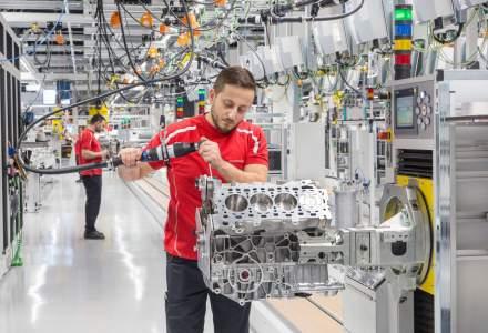 Porsche a investit 80 mil. euro intr-o unitate de productie pentru motoare V8
