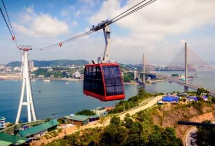 Asa arata cel mai mare tramvai aerian din lume, lansat in Vietnam