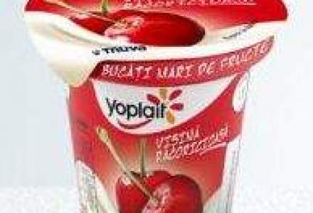 Producatorul de iaurt Yoplait, evaluat la 1,6 mld. dolari