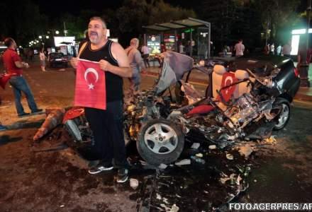 Lovitura de stat in Turcia: cel putin 60 de oameni si-au pierdut viata la Ankara