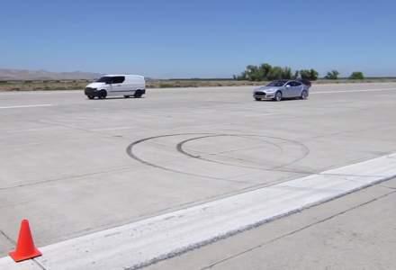 Van electric, mai rapid decat o Tesla si un Ferrari