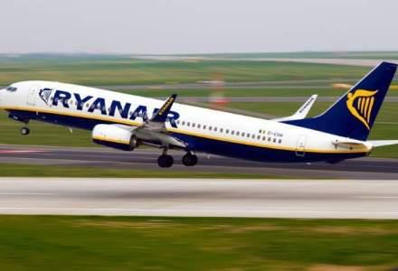 Ryanair reduce tarifele cu 30% pentru zboruri in octombrie si noiembrie