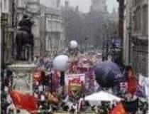 Violente la Londra