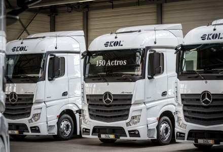 Mercedes-Benz a vandut o flota de 150 de camioane Actros catre operatorul logistic Ekol