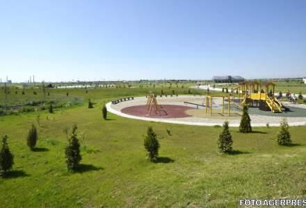 Reportaj: Cel mai mare parc din Ploiesti, in paragina la doua luni de la inaugurare