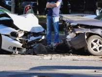Accident auto produs pe DN 1,...