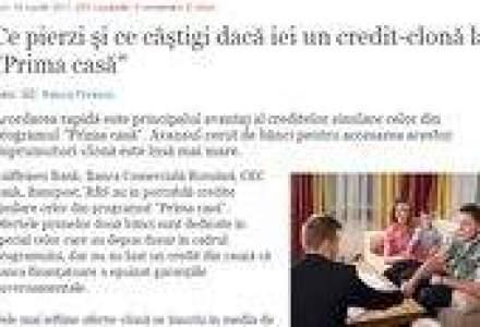 Revista presei de business: Ce pierzi daca iei un credit-clona la Prima Casa