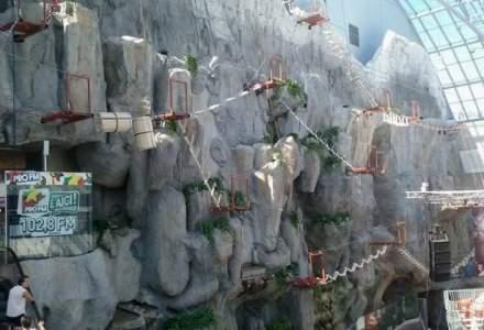 AFI Palace Cotroceni investeste peste 200.000 euro intr-un parc de aventura indoor unic in centrele comerciale din Europa