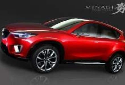 SUV-ul compact Mazda CX-5 va fi lansat in 2012