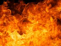 Incendiu puternic la Remat...