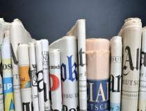 BRAT: Vanzarile de ziare...