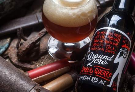 Ground Zero Beer, microberaria lansata exclusiv cu banii castigati la poker online