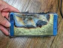 Galaxy Note 7, suspectat ca...