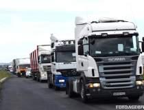 Transportatorii protesteaza...