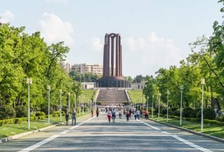 Primaria Capitalei incepe curatenia in parcurile din Bucuresti, unde vor fi spalate aleile si curatate bancile