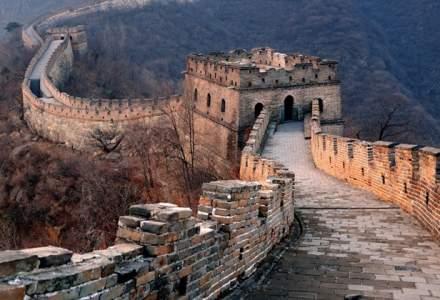 Chinezii sunt suparati: o portiune din Marele Zid Chinezesc a fost reparata cu nisip si ciment