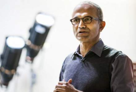 Seful Microsoft, Satya Nadella, a castigat in anul fiscal trecut 18 milioane de dolari