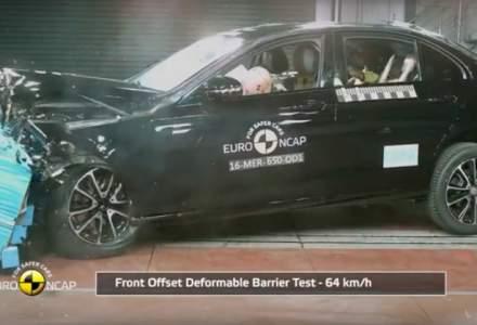 Euro NCAP a testat doua masini noi, modele ale marcilor Mercedes-Benz si Peugeot