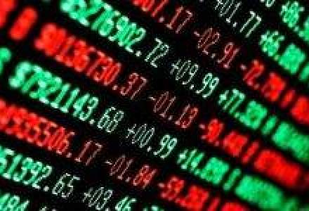 Bursa a scazut cu 0,5%, revenind usor in a doua parte a sedintei